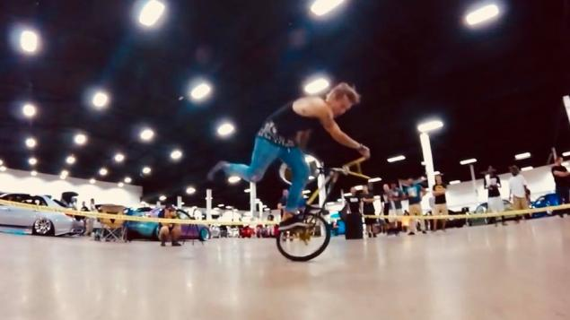 The Flat Event at Battle At The Border car show is a BMX flatland contest  taking place at the Buffalo Niagara Convention Center! All of the entry fee  money ...