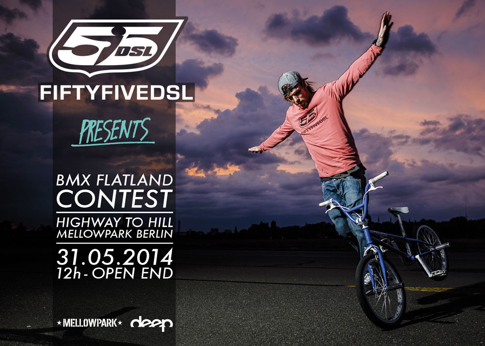 Berlin 55DSL Flatland Contest At Highway To Hill